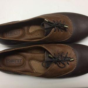 Born leather oxfords